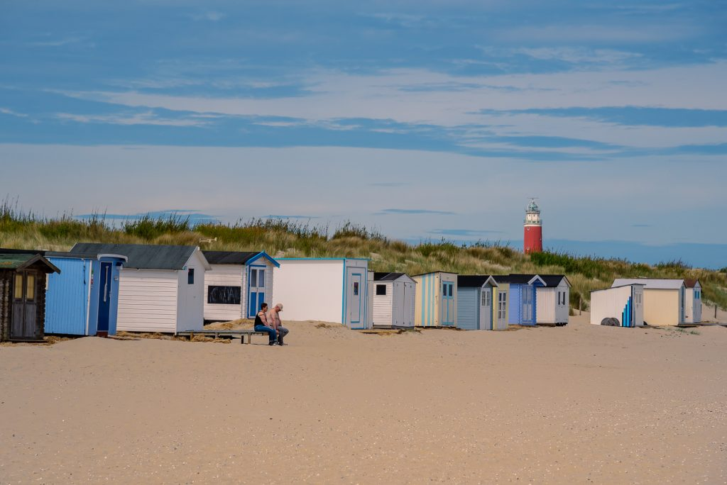 Texel Strand Kaap noord